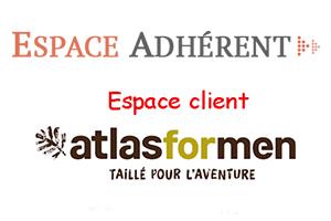 Accès à l'espace client atlas for men