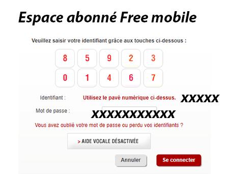 free espace abonn? gerer mon compte