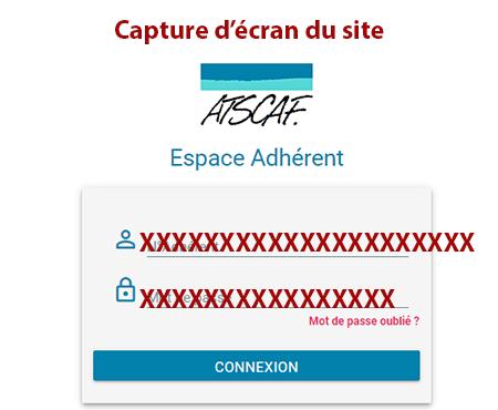 Accès compte ATSCAF