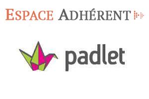 Connexion sur le site Padlet.com