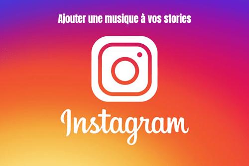 ajouter musique instagram story