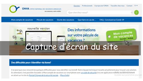 Accéder au site onva.be/fr