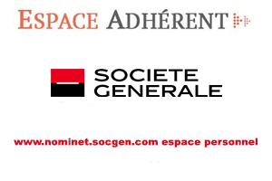 Connexion sur www.nominet.socgen.com