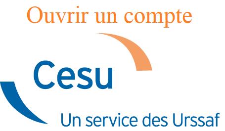 Ouverture d'un compte CESU espace salarié