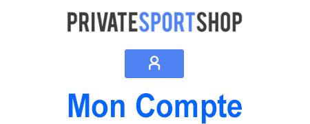 Mon compte client Private Sport shop