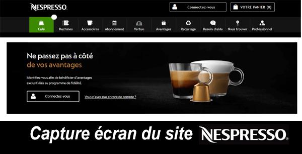 Nespresso espace client