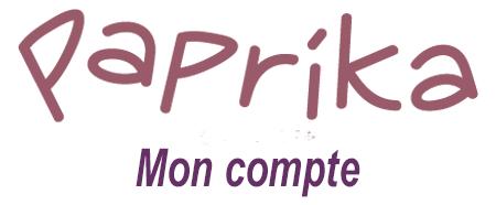 Mon compte client Paprika.fr