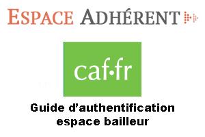 Connexion espace bailleurs sur caf.fr