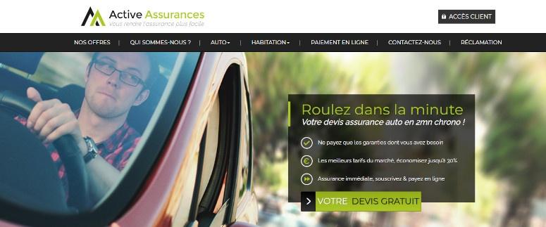 active assurance mon compte