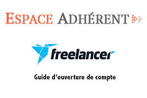 Ouvrir un compte freelancer