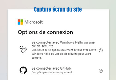se connecter messagerie outlook windows hello