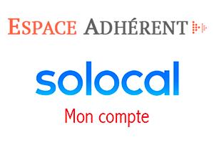 Se connecter à l'espace client solocal