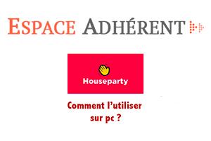 Utiliser house party en ligne
