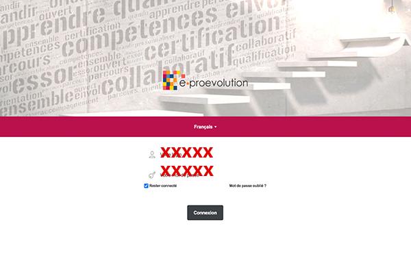 Connexion E-proevolution