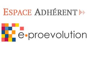 Espace adhérent E-proevolution