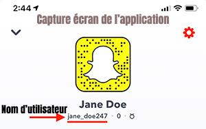 changer son nom d'utilisateur snapchat