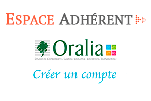 Créer oralia espace client