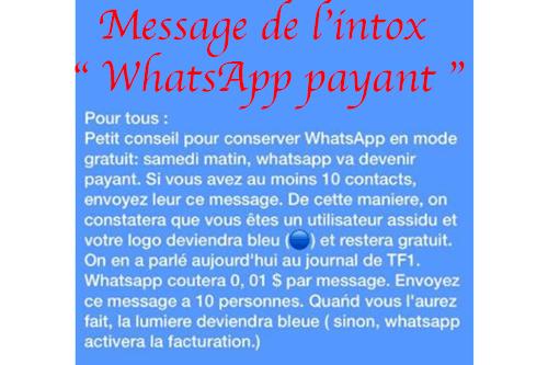 Whatsapp payant en 2021