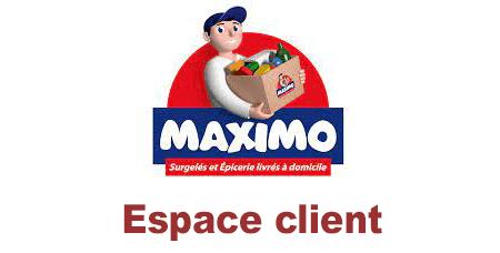 Maximo espace client : Inscription en ligne et commande sur catalogue