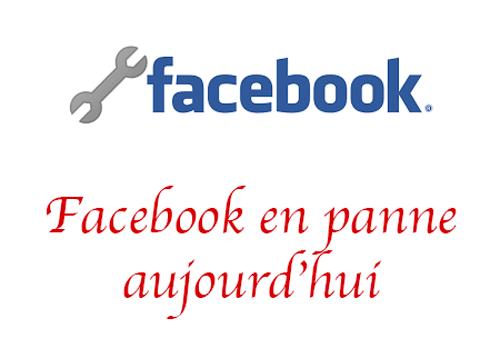 Panne facebook 2021
